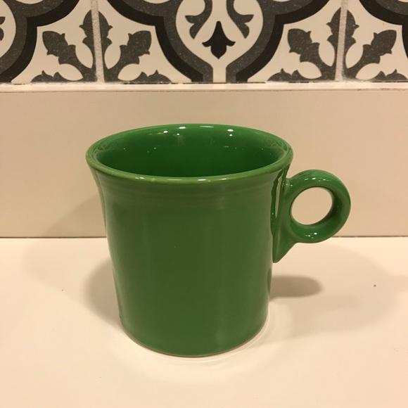 "Fiesta Other - Fiesta ""meadow"" green coffee/tea mug"
